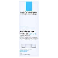La Roche-Posay Hydraphase Intense Legere Feuchtigkeitspflege + gratis La Roche-Posay Mizellenwasser 50 Milliliter - Vorderseite