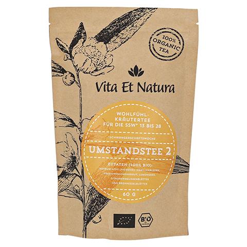 Vita Et Natura BIO Umstandstee 2 Schwangerschaftstee 60 Gramm