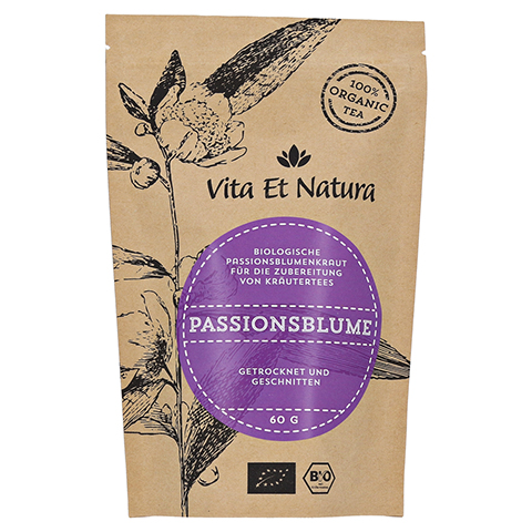 Vita Et Natura BIO Passionsblumenkraut 60 Gramm