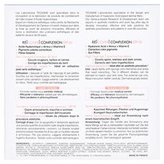 TEOXANE RE[COVER] Complexion 7.5 Gramm - Rückseite