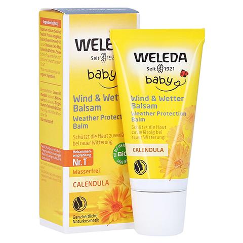 WELEDA Calendula Wind- und Wetterbalsam 30 Milliliter
