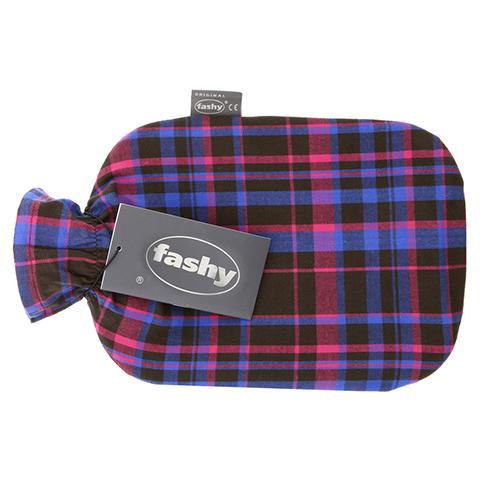 FASHY Wärmflasche mit Karobezug 6536 42 1 Stück