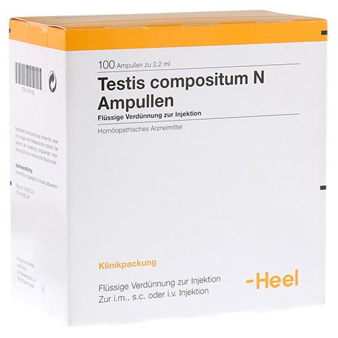 TESTIS COMPOSITUM N Ampullen 100 Stück N3