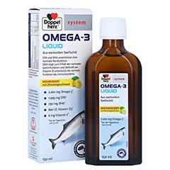 DOPPELHERZ Omega-3 Liquid system 150 Milliliter