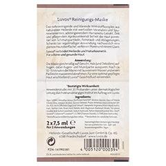 LUVOS Heilerde Reinigungs-Maske Naturkosmetik 2x7.5 Milliliter - Rückseite