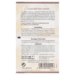 LUVOS Heilerde Zell-Aktiv-Maske Naturkosmetik 2x7.5 Milliliter - Rückseite