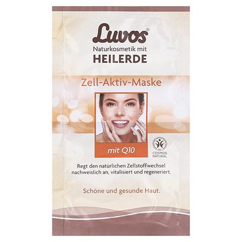 LUVOS Heilerde Zell-Aktiv-Maske Naturkosmetik 2x7.5 Milliliter