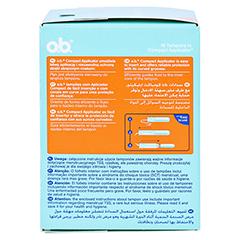 COMPACT Applicator f.o.b.Tampons super 16er 16 Stück - Linke Seite