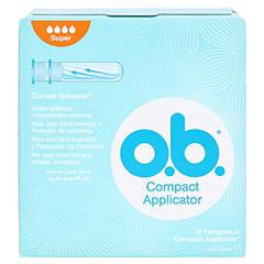 COMPACT Applicator f.o.b.Tampons super 16er 16 Stück - Rückseite