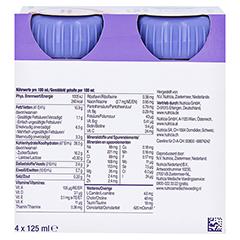 NUTRINIDRINK Compact MultiFibre Erdbeere 8x4x125 Milliliter - Rückseite