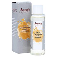MACADAMIANUSSÖL 100% rein Hautpflegeöl Amante 100 Milliliter