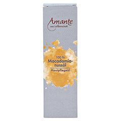 MACADAMIANUSSÖL 100% rein Hautpflegeöl Amante 100 Milliliter - Vorderseite