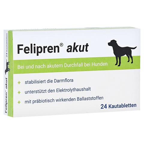 FELIPREN akut Kautabletten bei Durchfall f.Hunde 24 Stück