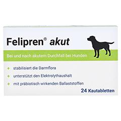 FELIPREN akut Kautabletten bei Durchfall f.Hunde 24 Stück - Vorderseite