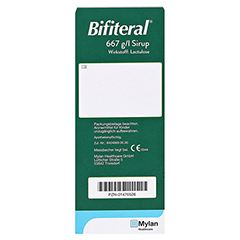 Bifiteral 667g/l 500 Milliliter N2 - Rückseite