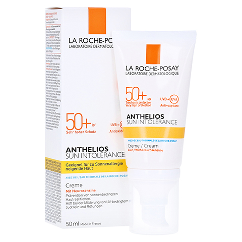 La Roche-Posay Anthelios Sun Intolerance LSF 50+ Creme 50 Milliliter