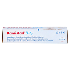 Kamistad Baby Gel 10 Milliliter - Unterseite