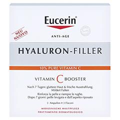 EUCERIN Anti-Age HYALURON-FILLER Vitamin C Booster 3x8 Milliliter - Vorderseite