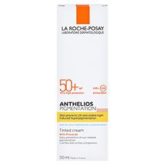 La Roche-Posay Anthelios Pigmentation LSF 50+ Sonnenschutz Creme + gratis La Roche Posay Anthelios XL 50+ 15 ml 50 Milliliter - Rückseite