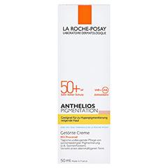 La Roche-Posay Anthelios Pigmentation LSF 50+ Sonnenschutz Creme + gratis La Roche Posay Anthelios XL 50+ 15 ml 50 Milliliter - Vorderseite