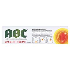 ABC Wärme-Creme Capsicum 0,75mg/g Hansaplast med 50 Gramm - Rückseite