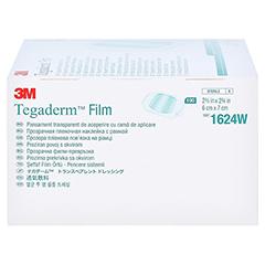 Tegaderm 3M Film 6x7 cm 1624W 100 Stück - Linke Seite