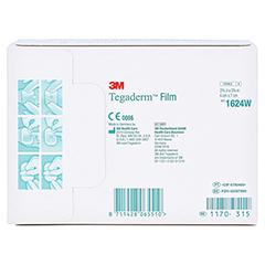 Tegaderm 3M Film 6x7 cm 1624W 100 Stück - Rückseite
