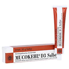 MUCOKEHL Salbe D 3 30 Gramm