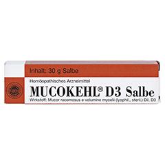 MUCOKEHL Salbe D 3 30 Gramm - Vorderseite