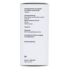 BIOCHEMIE Orthim 6 Kalium sulfuricum D 6 Tabletten 400 Stück N3 - Linke Seite
