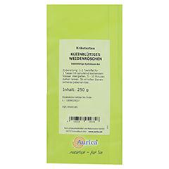Kleinblütiges Weidenröschen Tee 250 Gramm - Rückseite