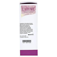 LAROME Massageöl mit Ylang 50 Milliliter - Rückseite