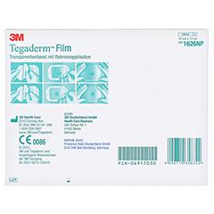 TEGADERM Film 10x12 cm 1626NP 5 Stück - Rückseite