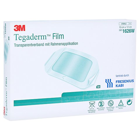 TEGADERM Film 10x12 cm 1626W 50 Stück