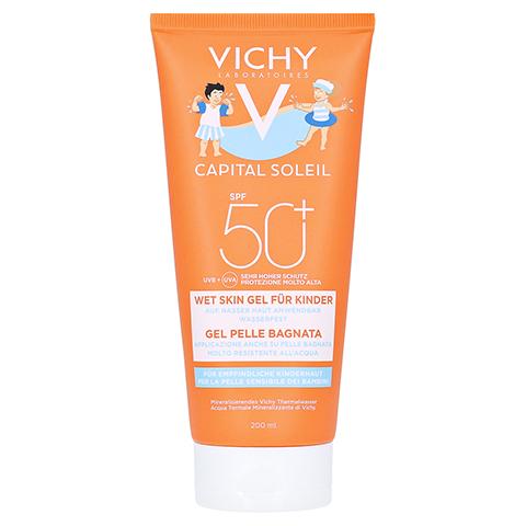 VICHY CAPITAL Soleil Kinder Wet Gel-Milch LSF 50+ 200 Milliliter