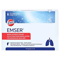 EMSER Inhalator compact 1 Stück - Oberseite