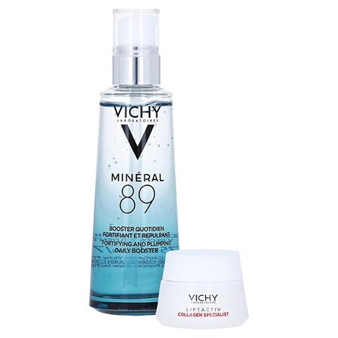 Vichy Minéral 89 Hyaluron-Boost Gesichtspflege + gratis VICHY Collagen Specialist 15 ml 75 Milliliter