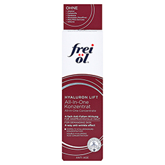 FREI ÖL Anti-Age Hyaluron Lift all-in-one Konz. 30 Milliliter - Vorderseite