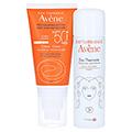 AVENE SunSitive Sonnencreme SPF 50+ o.Duftst. + gratis Thermalwasser 50 ml 50 Milliliter