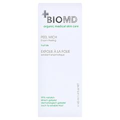 Biomed Peel Mich Enzym-Peeling 40 Milliliter - Vorderseite