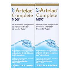 Artelac Complete MDO Augentropfen 2x10 Milliliter - Vorderseite