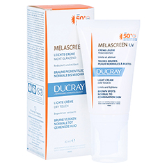 DUCRAY MELASCREEN Photoaging UV Cr.leicht SPF 50+ 40 Milliliter