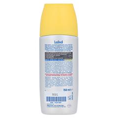 LADIVAL Aktiv Sonnenschutz Spray LSF 50+ 150 Milliliter - Rückseite