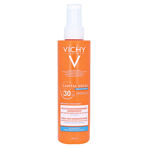 Vichy Capital Soleil Beach Protect Sonnenspray LSF 30 200 Milliliter