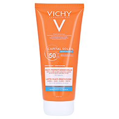 Vichy Capital Soleil Beach Protect Sonnenmilch LSF 50+ 200 Milliliter