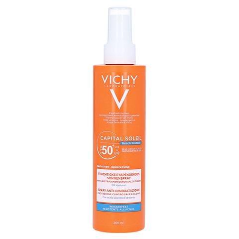 Vichy Capital Soleil Beach Protect Sonnenspray LSF 50+ 200 Milliliter