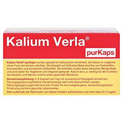 KALIUM VERLA purKaps 60 Stück - Oberseite