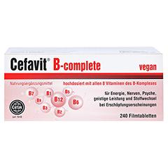 CEFAVIT B complete Filmtabletten 240 Stück - Vorderseite