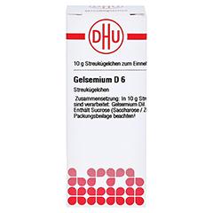 GELSEMIUM D 6 Globuli 10 Gramm N1 - Vorderseite