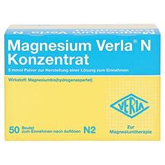 Magnesium Verla N Konzentrat 50 Stück N2 - Vorderseite